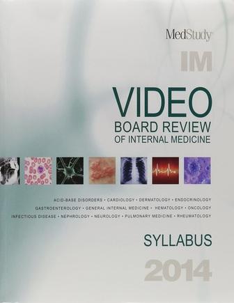 2014 Video Board Review of Internal Medicine – Internal Medicine Books